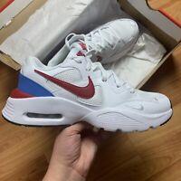 Nike Men's Air Max Fusion Trainers Size UK 11 EUR 46 White CJ1670 100