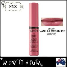 NYX BUTTER LIP GLOSS BLG09 VANILLA CREAM PIE (Mauve) -- AUSTRALIA --