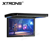 "XTRONS 12.1"" Car Overhead Player Wide Screen 1080P Flip Down Roof Mount Monitor"