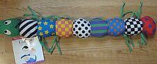 "Lamaze INCHWORM Infant Development Plush Toy 24"""