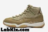 2018 WMNS Nike Air Jordan 11 XI Retro SZ 5-12 Neutral Olive Green LUX AR0715-200