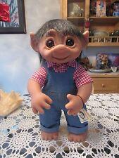 """GIANT HENRY STYLED BOY w/ TAG - 17"""" Dam Troll Doll - NEW ORIGINAL BAG"""