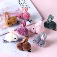 Accessories Headwear Women Hair Rope Rubber Band Girls Hair Clip Plush Rabbits-