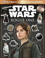 Star Wars Rogue One Ultimate Sticker Encyclopedia, DK, Very Good condition, Book