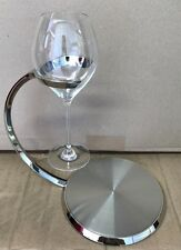 VEUVE CLICQUOT CHAMPAGNE SLOVAKIAN CRYSTAL PRESTIGE TASTING GLASS WITH STAND X 1