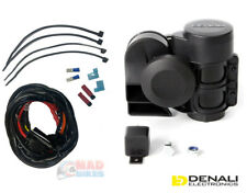 Denali SoundBomb COMPACT Motorcycle Motorbike Air Horn & PlugnPlay Wiring Kit
