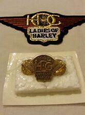 Harley Davidson - Ladies Of Harley - HOG - 2007 - Patch & Pin