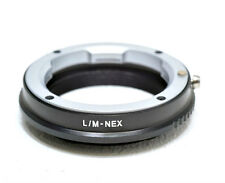 Leica M to Sony E-Mount Adapter Ring. LM Lens to Sony NEX/A7 Adaptor.