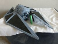Star Wars Rogue One Nerf Imperial Tie Striker Hasbro 2016 Tie Fighter With Pilot