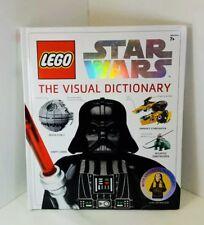 Lego Star Wars The Visual Dictionary Luke Skywalker Mini Figure Hardcover 2009