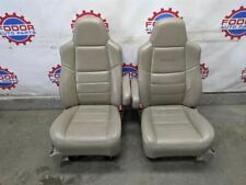 05 06 Ford Excursion Limited tan leather front seats Superduty f250 f350