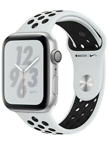 Apple Watch Series 4 Nike+ cassa alluminio argento 40mm cinturino bianco