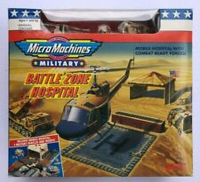 Micro Machines - Military Hospital w/ 3 Vehicles - MINT IN SEALED BOX !!!