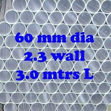 60mm 2.3 OS Dia  3.0 m Gal RHS Steel Round Tube Pipe Fence Post Long Cheap!!!
