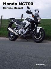 Taller De Servicio Manual de instrucciones Honda NC700 NC700S NC700SA NC700SD NC700X NC700XA