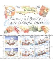 Monaco 1992 Mi BL 55 ** Christopher Columbus Union Europa Cept Boat Ship Schiff
