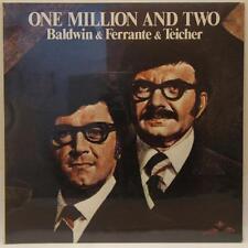 FERRANTE & TEICHER: One Milion And Two 1973 LP UA Gatefold SEALED Orig NICE