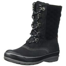 CLARKS Muckers Lace Carima Luna Black Waterproof Rain/Snow Winter Sorel Boots