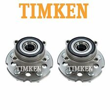 For Acura MDX Honda Pair Set of 2 Rear Wheel Bearings & Hub Assemblies Timken