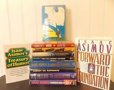 Lot 21 Isaac Asimov Collection~1st prints~HTF Titles~Foundation~Will Separate