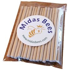 """Bee Tubes for Leafcutters + other small native, solitary bees 3/16"""" X 5"""" 50-ct"""