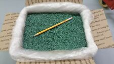 PLASTIC PELLETS GLASS FILLED NYLON, GREEN COLOR, 14 lbs,