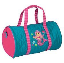 Stephen Joseph Girls Mermaid Duffle Bag - Cute Kids Dance and Travel Bags