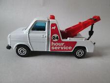 Corgi Ford Transit Wrecker Tow Truck #103 Gt Britain (24 Hour Wreck Service)