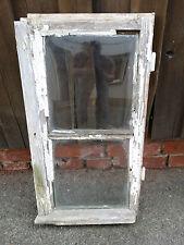 altes Fenster Fensterflügel Holzfenster Seitenflügel mit Glas Deko shabby chic 6