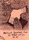 "1952 Artists Equity Improvisations–MILTON AVERY ""Levine"" Orig Lith–Ed. of 2000"