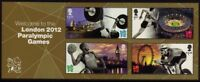 GB 2012 Commemorative Stamps~Paralympic Games~ M/S~Unmounted Mint Set~UK