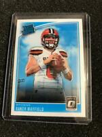 2018 Panini Donruss Optic Football #153 Baker Mayfield Rated Rookie RC  BROWNS