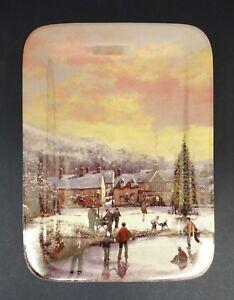 Davenport Plate: A White Christmas Series
