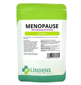 Menopause Formula with Sage and Red Clover (60 tablets) Lindens