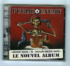 CD (NEW) PUBLIC ENEMY MUSE SICK N HOUR MESS AGE