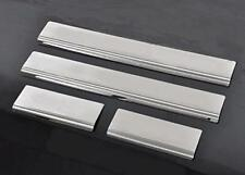 4 x Aluminium Alloy Door Sill Step Guard Trim Protectors fits VOLKSWAGEN vw