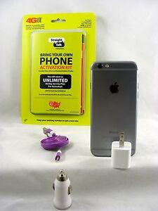 Apple iPhone 6 - 64GB - Space Gray (Straight talk CDMA Verizon Nano SIM Card)