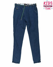 Scotch R'Belles By Scotch & Soda Denim Trousers Size 14Y Wrap Front Belted