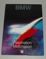 Bildband BMW - Faszination Motorsport, mit M3 E30 E36 + M5 E34, E9 3.0, M1, 1992