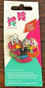 London Paralympics 2012 Pin Badge - Opening  Ceremony L/ Edition  on Card