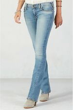 NWT TRUE RELIGION JEANS $328 BECCA MID RISE BOOT CUT PANTS IN GOODWIN AVE SZ 26