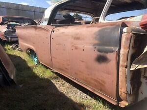 1958 FORD SKYLINER SUNLINER RETRACTABLE PASSENGER SIDE DOOR RUST FREE 1957 Parts