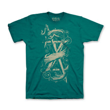 Fan Gamer Fabled Blade Green Tri-blend T-Shirt Medium Zelda
