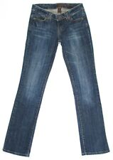 Aeropostale Womens Jeans Skinny Leg Stretch Low Rise Blue Denim Size 1 2 R 27x31