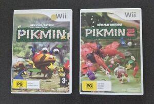 Pikmin 1 & 2 Nintendo Wii *Complete*