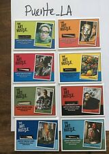 Art Hustle 3-8 brush card set Shag Kozik Louie English Pardee Sucklord McPherson