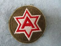 WWII 6th Army Patch Machine Embroidered Pacific Theater WW2