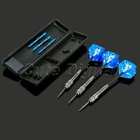 3Pcs Professional Competition Tungsten Steel Needle Tip Darts Set/Box 26g Blue