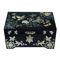 Coffre a bijoux Bois Antique Nacre Luxe Elegance TORTUE