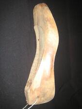 Schuhleisten Schusterleiste Holz Gr. 42/7 rechter Fuß  Filzen